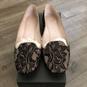 Vince Camuto Loria Lace Loafers